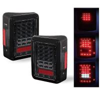 Quality Red / White Turn Signal Backup Stop LED Tail Lights 6000K 3600 LM / Kit for sale