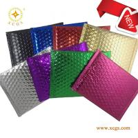 Quality Coloured Matte Bubble Cushioned envelope/ Aluminized Foil Mailer with doubleside for sale