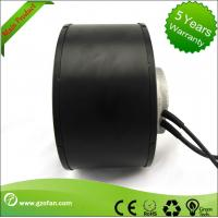 Quality Air Purification Forward Curved Centrifugal Fan Blower , DC Input High Pressure Centrifugal Fan for sale