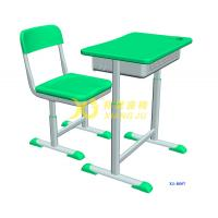 Quality Height Hollow Polythylene Adjustable Student Desk And Chair Set Size 600*400mm for sale
