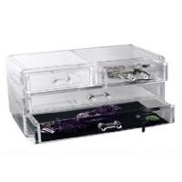 Quality Competitive Prices Acrylic Three Drawer Organizer With Quick Delivery for sale