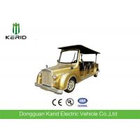 Quality Energy Saving Classic Golf Carts 48V DC Motor 8 Seat Electric Classic Car for sale