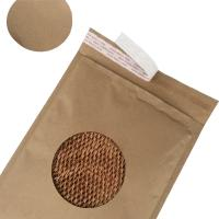 Quality Easy Recycle Rigid Mailer Envelopes Brown Kraft Cover Honeycomb Paper Eco Friendly for sale