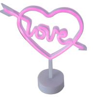 Quality Love heart led neon light wedding decoration for sale