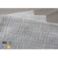 25mm 1200℃ White Fiberglass Needle Mat High Silica Heat Insulation Blanket