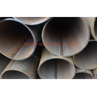 Buy Galvanized ERW Steel Pipe / Tube For Oil, Gas , Large Diameter Welding Round at wholesale prices