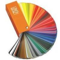 Quality German Ral k5 color cards for fabric for sale