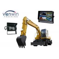 Quality 10.1 Inch TFT Car Monitor , 4 Cameras Car Video Monitors 1024 x 600 Resolution for sale