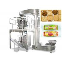 Quality Vertical Food Packing Machine For Biscuit / Chips Full Automatic Control for sale