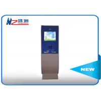 Buy cheap Free Standing LCD Information Kiosk Self Service Aluminum Frame + Sheet Metal from wholesalers