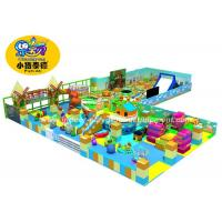 Quality Anti UV Soft Play Area Games Equipment , Durable Kids Indoor Play Equipment for sale
