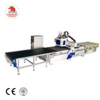 China double spindle Woodworking Machine 1325 Cnc Router with drilling automatic loading and unloading on sale