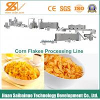 Quality Energy Saving Corn Flakes Production Line Easy Operation And Repair for sale
