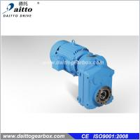 Quality F Series Parallel Shaft Helical Gear Reducer Gearbox for sale