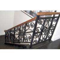 Quality Black Grey Cast Iron Handrails Anti Corrosion For Highway Railway Fence for sale