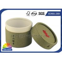 Quality Chocolate / Tea Packaging Cardboard Cylinder Tubes ISO 9001 2008 / SGS for sale