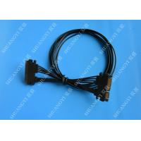 22 Pin Male to Female Hard Drive SATA Power Cable Black Slimline 20 Inch