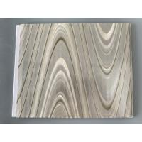 Quality Study Ceiling Laminated Plywood Wall Panels , Wood Grain Laminate Sheets Wave Design for sale