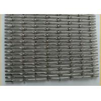 """Quality Flat-Wire Decorative Mesh Colorado Stainless Steel 304 36"""" X 48"""" for sale"""
