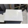 Bush Hammered Finish Bathroom Stone Wall Tiles , Natural White Quartz Floor Tiles for sale