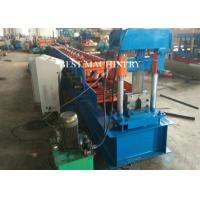 Quality T Profile Purlin Channel Hydraulic Roll Forming Machine 8700*1550*1910mm for sale