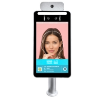 Quality CE FCC ROHS Smart Face Recognition Temperature Device IPS HD Screen for sale