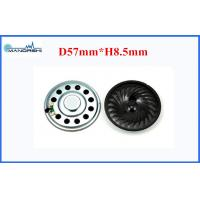 Quality 90dB Loudspeaker 57mm Mini Mylar Speaker  with 0.8W Rated Power For Toy Or Radio for sale
