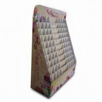 Quality Cardboard Display with Four-color Offset Printing, Measures 19.6 x 14.6 x 55.2 Inches for sale
