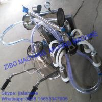 Buy cheap For USA market,Vacuum Pump Typed Single Bucket Mobile Milking Machine, hot sale from wholesalers