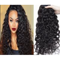 Quality Full Head European Hair Weave Wet And Wavy Human Hair Extension for sale