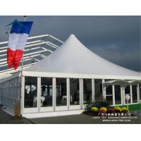 Quality Aluminum Large Pagoda Tents With Glass Wall / Outdoor Event Tent for sale
