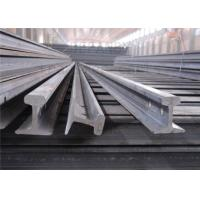 Quality Material 55Q / Q235B Light Steel Rail Strong Hardness For Railway Rail for sale