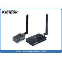 Quality 5.8Ghz 600mW Analog Video Transmitter , 9 Channels Wireless CCTV Transmission 800-1000m Range for sale