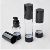 Quality 15ml 30ml 30ml  cosmetic sprayer bottle in black cap for sale