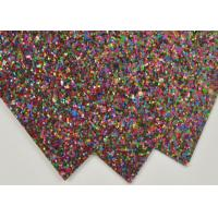 Quality Party Decoration Thick Glitter Paper , Sparkle Handcraft Glitter Paper Craft for sale