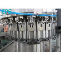 Quality Customized Voltage Automatic Liquid Bottle Filling Machine 8000BPH 3in1 monobloc for sale