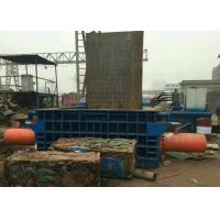Quality 160t dual drive hydraulic press scrap steel baling PLC control automatic baler for sale