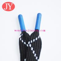Buy cheap blue color ABS plastic shoelace tips Drawcord end cap tips from wholesalers