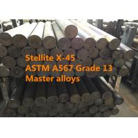 China Stellite X-45 Bars / Rings Special Alloys For Aerospace And Defense Thermal Shock Resistance on sale