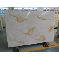 Buy cheap Artifical light  jade  For the wall  and Kitchen 2.5 G / Cm3 Bulk Density from wholesalers