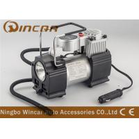 Quality Metal Hand Held Air Compressor Tyre Inflator Air Pump with Light / Digital Gauge for sale