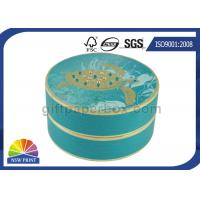 Quality Personalized Luxury Cylindrical Rigid Gift Boxes Round Cardboard Boxes for Gift Packs for sale