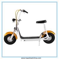 Buy cheap Portable small harley motorcycle electric 800W motor CE Approved citycoco scooter from wholesalers