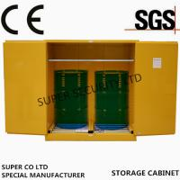 Quality Hazardous Flammable Liquid Storage Cabinet in  labs, minel, stock, chemical company stock, workshop for sale