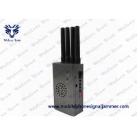 Quality Portable High Power Signal Jammer with Fan CDMA GSM DCS PCS 3G Grey Color for sale