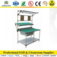 Quality 10kg Static Dissipative PVC Laminate Cleanroom Bench for sale