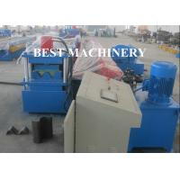 Quality 2 / 3 Beam Exprpessway Rail Guardrail Forming Machine 3mm - 5mm Galavnized for sale