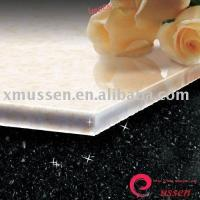 China USSEN Pore Crystallized Glass Panel (Snow White Stone) on sale