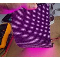 Quality IP45 P4mm RGB flexible led video screen , flexible wall panels Cree Chip for sale