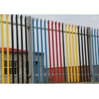 Quality Zinc Coated Wire Metal Fence IPE Post  D Section Durable With Angle Iron Rail for sale